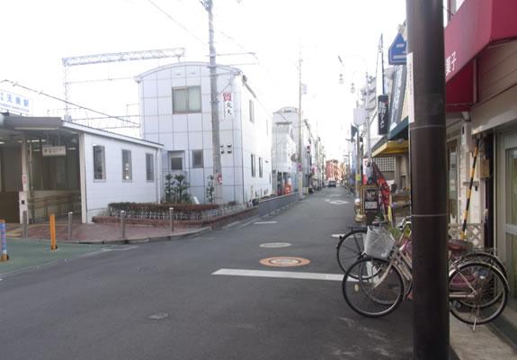 近鉄南大阪線河内天美駅を降ります