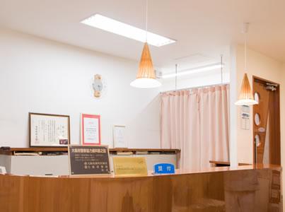 松原市の歯医者すが歯科の受付