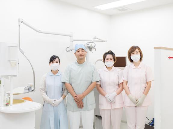 松原市の歯医者すが歯科のスタッフ